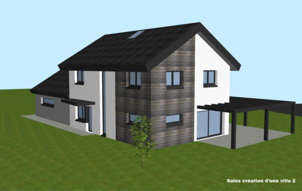 Salles création d'une villa 2.2