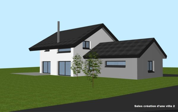 Salles création d'une villa 2