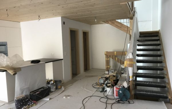 St-George transformation de 2 appartements