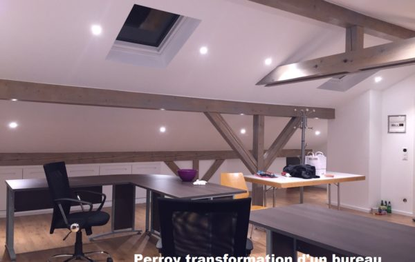 Perroy transformation d'un bureau
