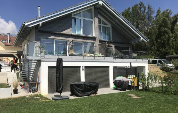 Arzier création de villa jumelle