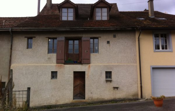 Aubonne transformation de 3 appartements